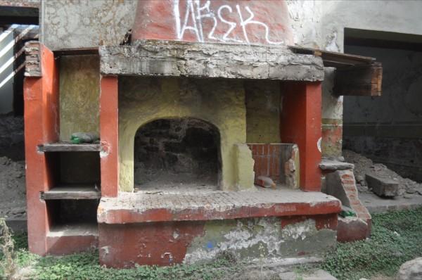 Edificio Abandonado IV (2011), Foto de Martha Vivar Coyotl