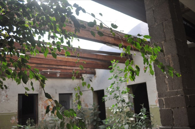 Edificio Abandonado II (2011), Foto de Martha Vivar Coyotl