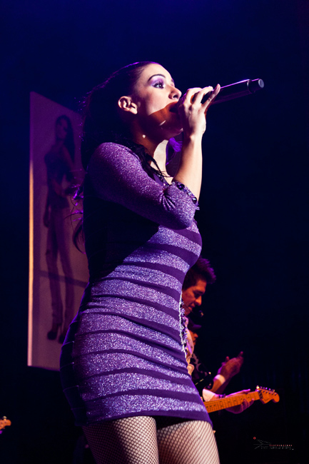 Cantante, foto por Alberto Jorge