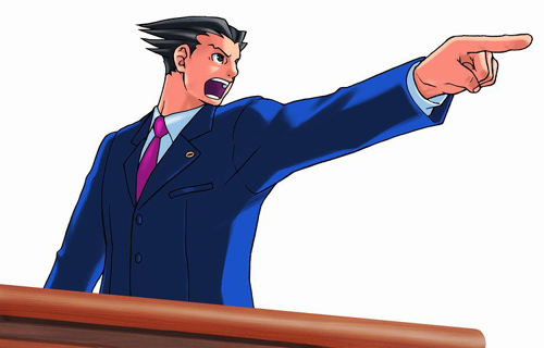 Phoenix Wright - Personaje principal del juego Phoenix Wright: Ace Attorney