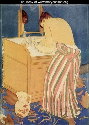 """The Bath I"" de Marry Cassatt. Imagen cortesía de Rosa Borrás."