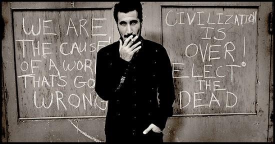 Serj Tankian. Imagen cortesía de José Luis Dávila.