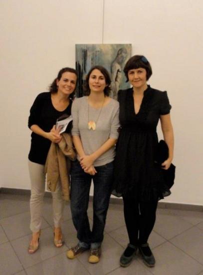 Nadia, Cristina y Gema