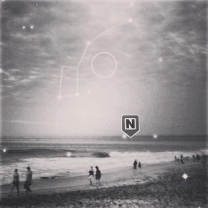 Arte de Norte, albúm debut de Little Jesus. Imagen tomada de su Instagram.