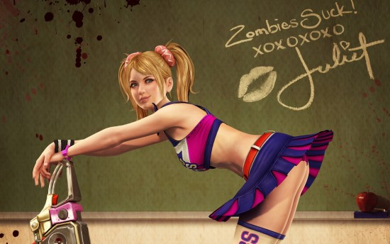 Juliet Starling de Lollipop Chainsaw. Imagen cortesía de Luis Ángel Llamas.