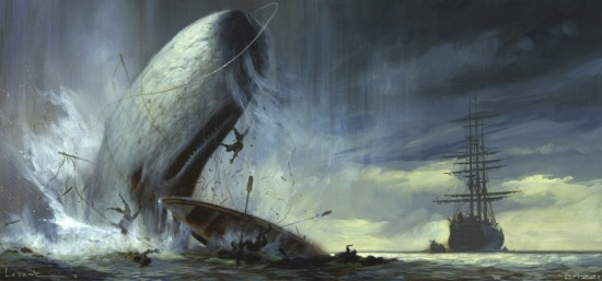 Moby Dick. Imagen tomada de avidly.org