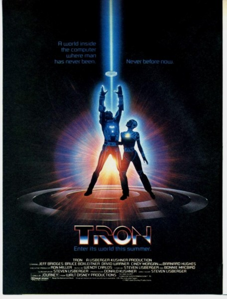 Poster de la película TRON.