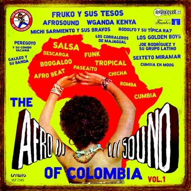 Portada de Afrosound of Colombia vol 1